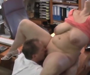 13:42 , Naughty BBW Spliced with Big Saggy Tits Getting a Raise