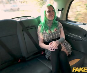 12:00 , Fake Taxi Lick my pussy and fuck my arse