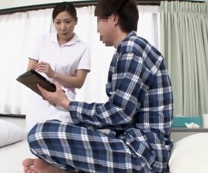 57:01 , Best Japanese whittle hither Horny Nurse JAV clip