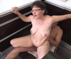 29:12 , Granny Edith Pumps Her Hairy Pussy Up And Near His Man Meat