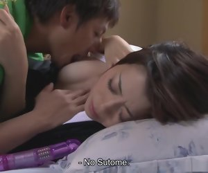 21:04 , Hot and horny widow Sayuri Shiraishi fucking her step-son