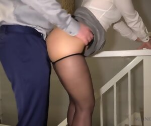 16:14 , Hot Business Woman Gets 3 Cumshots In Will not hear of Pantyhose - Lets Get..