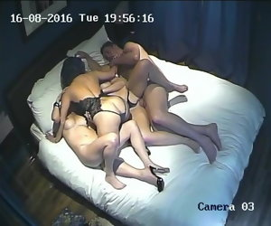 17:05 , Hidden camera. Super family Swingers 1