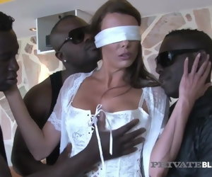 10:24 , PrivateBlack - Politician's Wed Caroline Tosca Fucks 3 BBCs