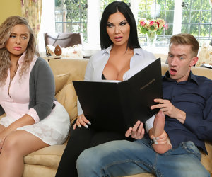5:36 , Jasmine Jae & Danny D in Tea And Crump-tits - BRAZZERS