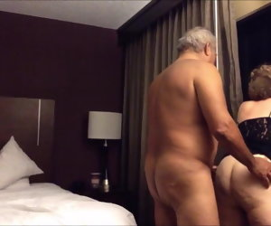 8:30 , Old big ass wife fucked newcomer disabuse of behind in the hotel section