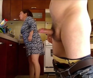 2:46 , Big latina granny fucked in the kitchen