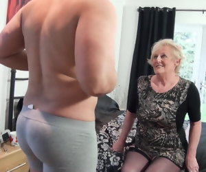 13:03 , British old slut's cunt requires a new big bushwa in any case day