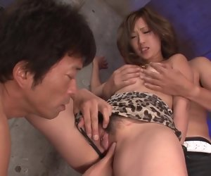 32:08 , Aika has japanese group sex and gets creampied