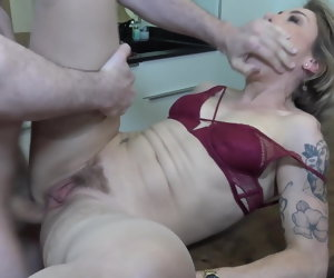 6:15 , Mother gets rough anal sex from son