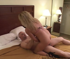 17:20 , Trailer Trash Big Teat Blonde Mom Got Derriere Fucked