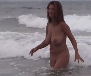 3:51 , Gorgeous Milf upstairs the beach with boyfriend