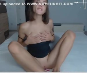 15:04 , Adorable Lay Teen toying herself to a creamy orgasm