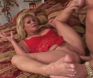 34:33 , Ginger Lynn analyzed and creampied