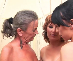 42:05 , MatureNL - Ancient and Young Lesbian threesome love