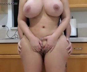 12:49 , Latina mom fucks her Grounded bored stepson on the cookhouse