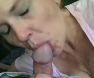 7:31 , 58 Years Old Mature Amazing Blowjob