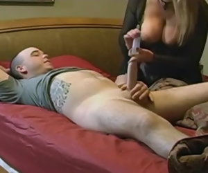 12:55 , Sexy mature seduces boy with heavy dick