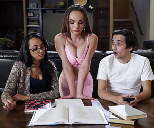 7:59 , Cytherea & Ricky Spanish in Disciplining The Squirt - BRAZZERS