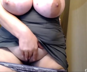 7:38 , Very Busty BBW Orgasming While Husband Encouragement under way