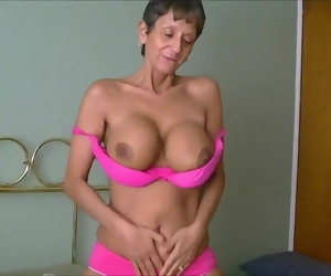 8:21 , GILF with giving tits