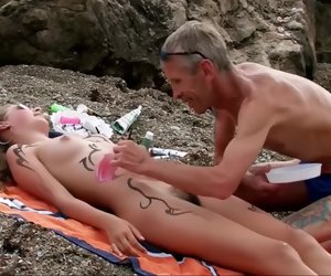 4:26 , Girls heavens make an issue of Beach approximately Hairy Pussy. Part 1