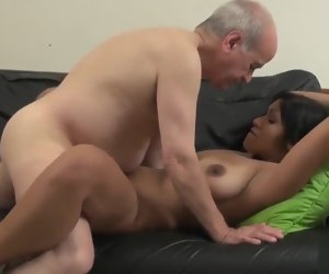 29:27 , Old Grandfather Fucks Young Horny Bride