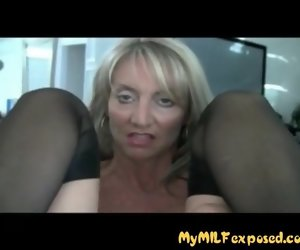 17:20 , My MILF Unvarnished Hot fit together wold stockings ass fingered