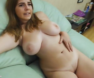 9:29 , Hot Obese Big Natural Bosom Teen Masturbating