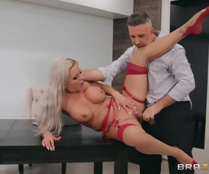 8:00 , Crawling To Another Cock Easy Peel Thither Nina Elle - BRAZZERS