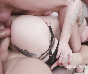 6:28 , Shemale triple anal penetrated