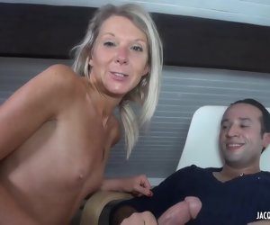 44:32 , Jenny is a mature, blonde cock- sucker, who is always in the mood for anal..