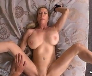 9:35 , Fucking 48 Years old shaved MILF 01