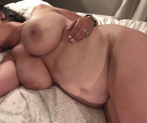 1:37 , Quick cumshot on my wife's remarkable tits