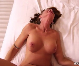 19:16 , Well turned out 50 year old GILF loves anal sex
