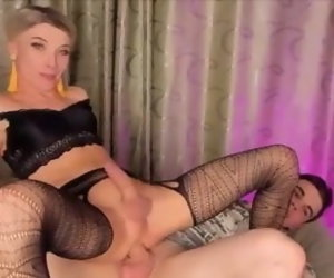 9:52 , Pretty Russian Crossdresser Mari fucked on cam