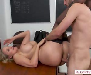 44:15 , Julia Ann is sucking cock like a total pro and getting fucked hard, in all..