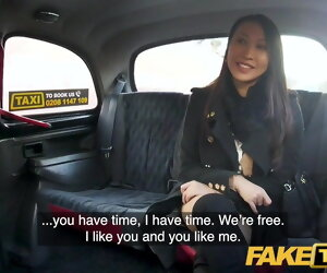 11:03 , Fake Taxi, Busty French Asian babe tries big euro horseshit