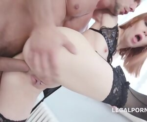 1:0:35 , Alexa Morning star got fucked in the ass added to got some fresh pee in her..