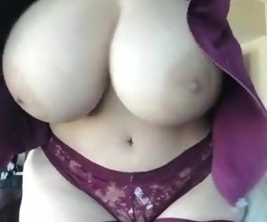 0:53 , Amateur Big Boobs Italian