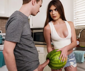 8:43 , StepSister Caught   Fellow-clansman Masturbating Wide A Watermelon