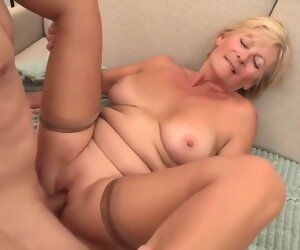 30:13 , Blonde granny is always willing to spread her legs wide open and get fucked,..