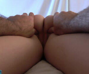 14:32 , Stepson gives stepmom a rub down and creampie