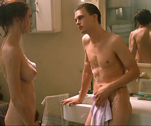 2:29 , Eva Green Nude Soaking Boobs And Hairy Bush In The Dreamers