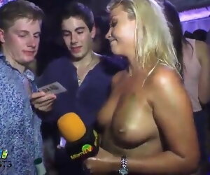 28:12 , TV host takes bets to be groped 3