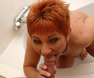 6:10 , Mature woman on a young cock