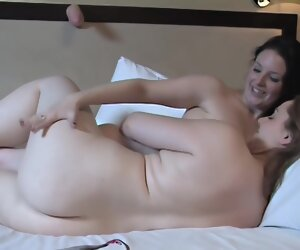 56:33 , Angie & Paula - Doing Burnish apply Double Dong