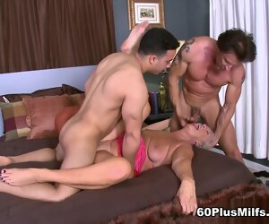5:23 , Jeannie Lou's Dp Adventure - Jeannie Lou, Rocky, And Tony D'sergio - 60PlusMilfs