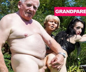 10:30 , Rejuvenating Grandpa's Worn Away Cock almost Granny