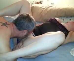 7:34 , American Creampie Cuckold Mature Milf Old Orgasm Pussy Watching Wife